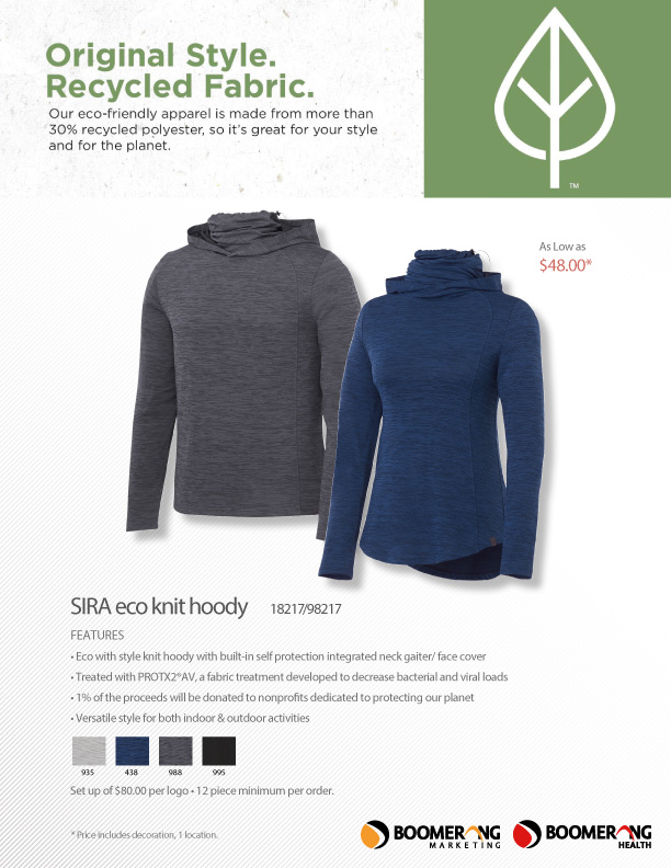Sira Eco Knit Hoody